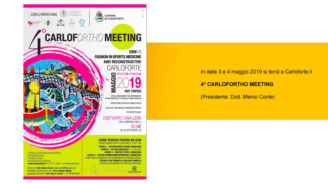 IV CarlofOrtho Meeting