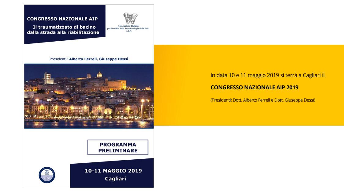 Locandina Congresso Nazionale AIP 2019
