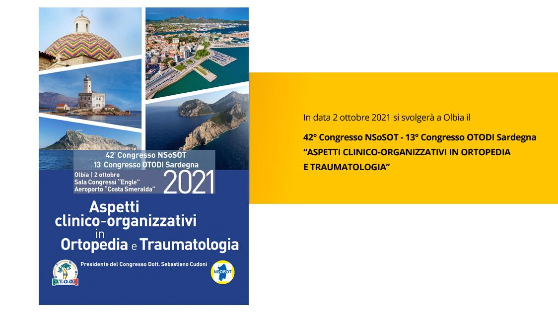42° Congresso NSoSOT-13° Congresso OTODI Sardegna